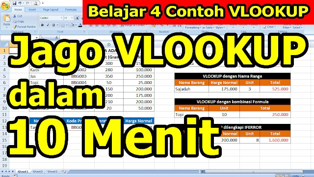 Jago Vlookup dalam 10 Menit
