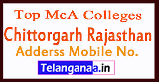 Top MCA Colleges in Chittorgarh Rajasthan