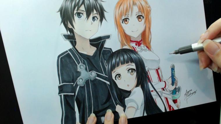 Curso de Desenho de Mangá/Anime Básico Online Grátis