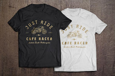 Free T-Shirt Black White Premium Mockups