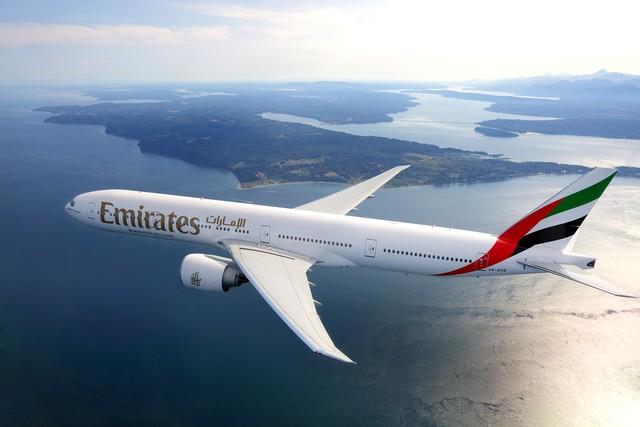 Emirates retoma tránsito a través de Dubái