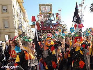 carnevale viareggio fotografie corso mascherato