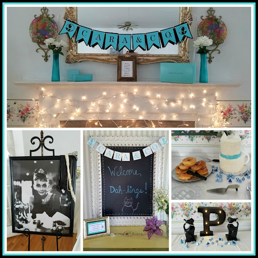 Breakfast at Tiffany's Themed Bridal Shower