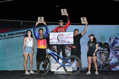 Biking community see action at the PH leg of the Red Bull Pump Track World Championship
