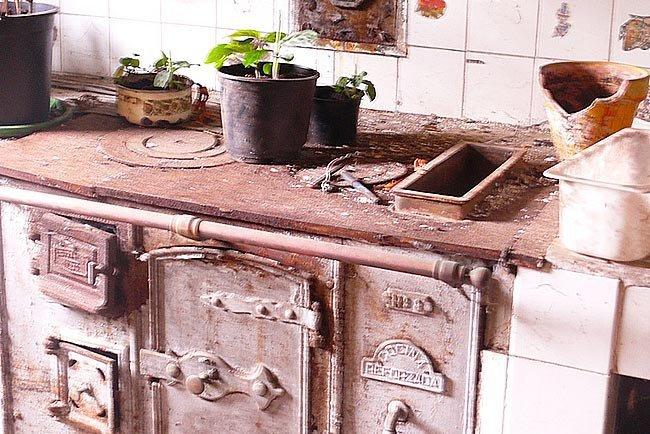La cocina economica cosas viejas for Cocina economica