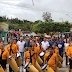 CHÃ GRANDE: Escolas e bandas participam do desfile cívico na Vila de Santa Luzia