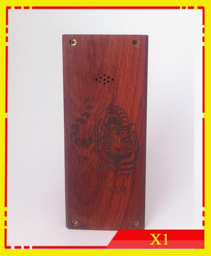 Vỏ gỗ điện thoại X1-01. Gỗ hương M9