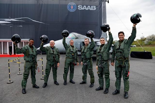 SAAB unveils Gripen E