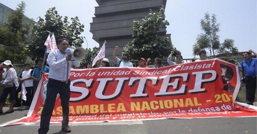 Docentes inician hoy huelga indefinida y dejan a escolares a su suerte