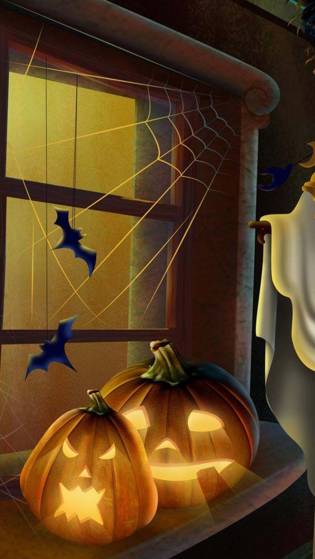 free halloween wallpapers iphone 4