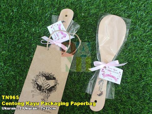 Centong Kayu Packaging Paperbag