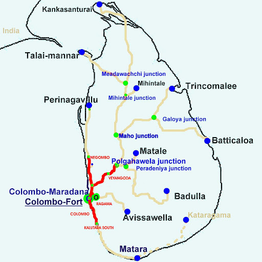 Electrification of the suburban railway system in Sri Lanka