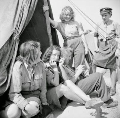 prisioneras alemanas