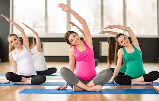 4. tập Yoga khi mang thai
