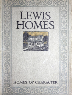 1924 lewis homes catalog cover