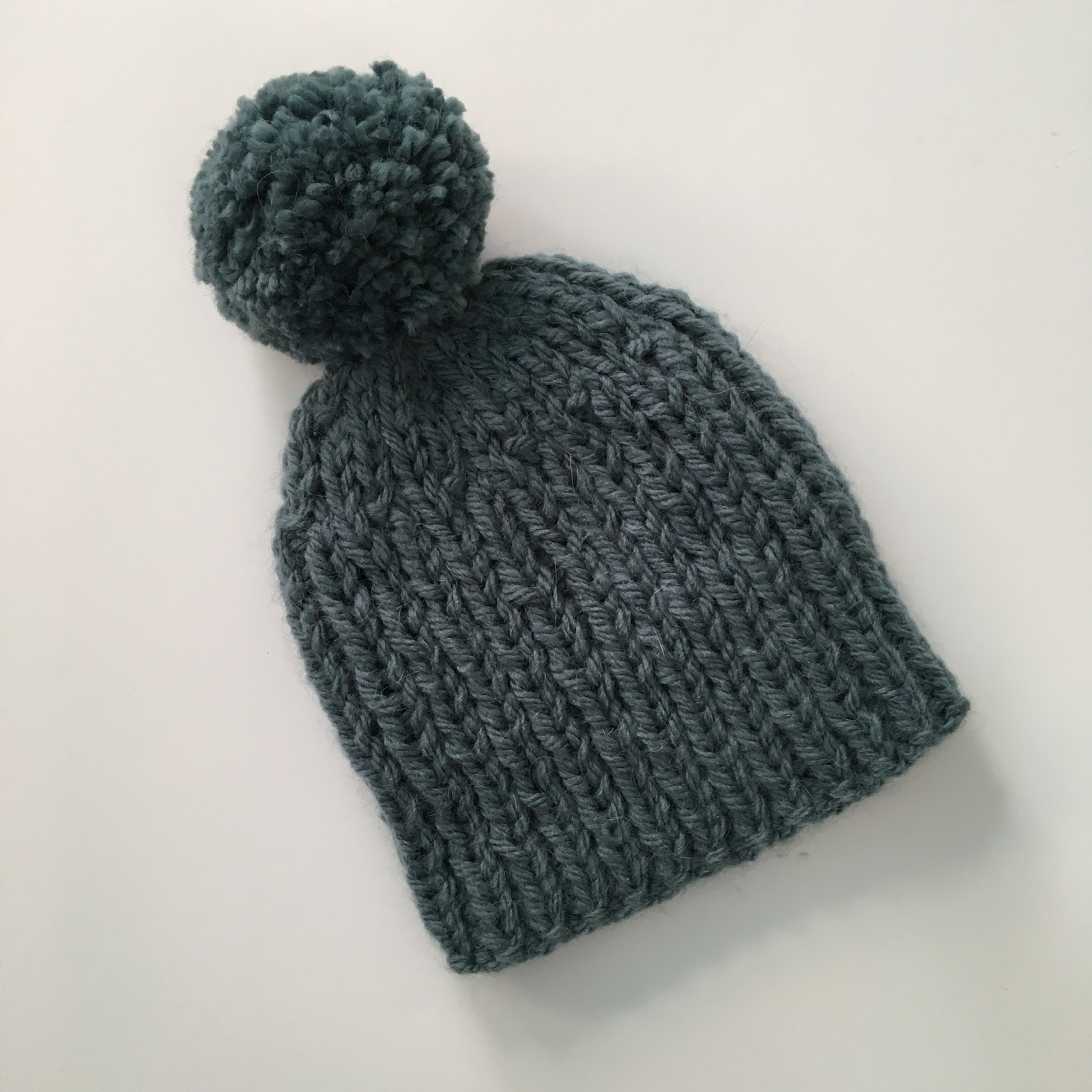 Simple Hat Knitting Pattern In The Round : Mack and Mabel: Knitting Patterns