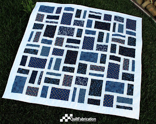 Tile Works quilt