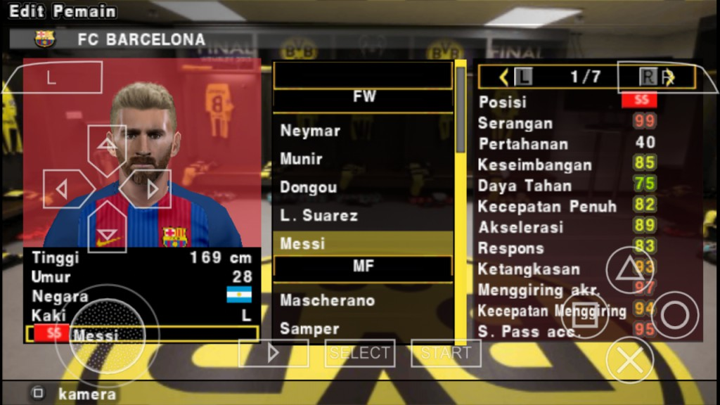 PES 2018 PPSSPP ISO For Android By Jogress V2 Data Mod