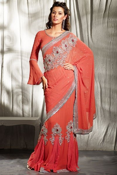 Latest Patterns of Indian Women Sarees