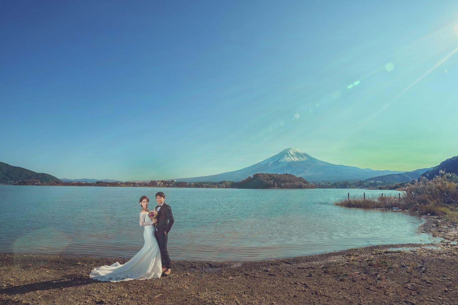 [富士山河口湖楓葉婚紗] B+C 日本海外婚紗 櫻花海外婚紗 京都楓葉婚紗 東京 世界最美的北海道雪景婚紗 台北海外婚紗推薦 瑪朵婚紗