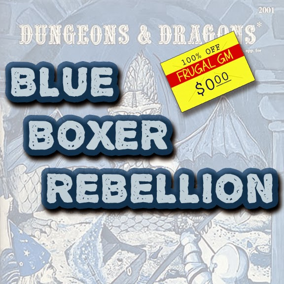 Free GM Resource: Blue Boxer Rebellion (Dungeonteller)
