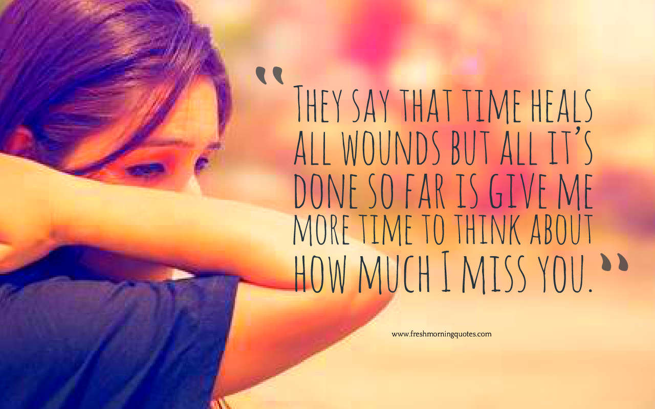 time heals all wounds quotes images
