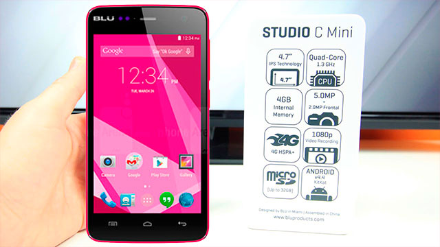 rom stock BLU Studio 5.0 C Mini D670L