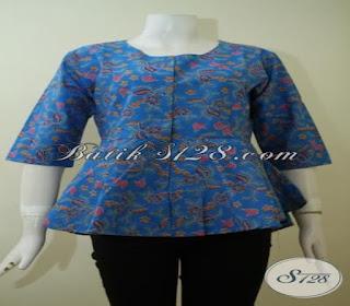 baju batik wanita kerja