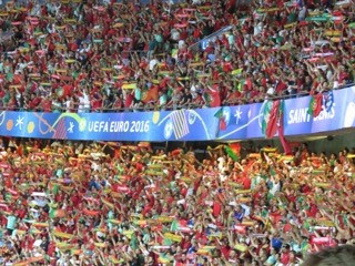 Portugal win Euro 2016, Paris, France.