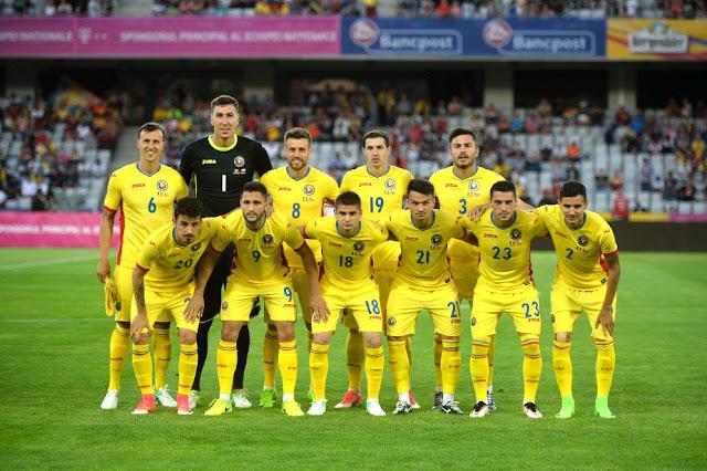 Formación de Rumania ante Chile, amistoso disputado el 13 de junio de 2017