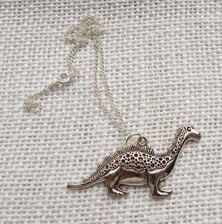 loch ness monster dinosaur necklace