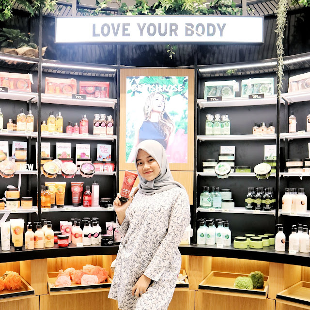 the body shop - beauty blogger - rara febtarina - The Body Shop New Concept store Bandung - PVJ bandung