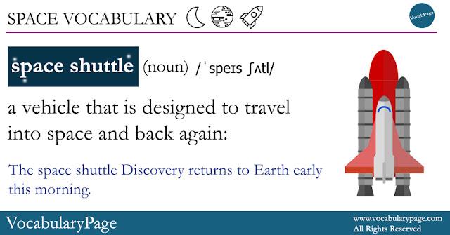 Space Shuttle definition
