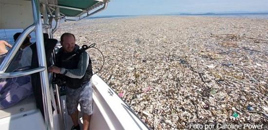 'Ilhas de lixo' no Caribe - Img 1