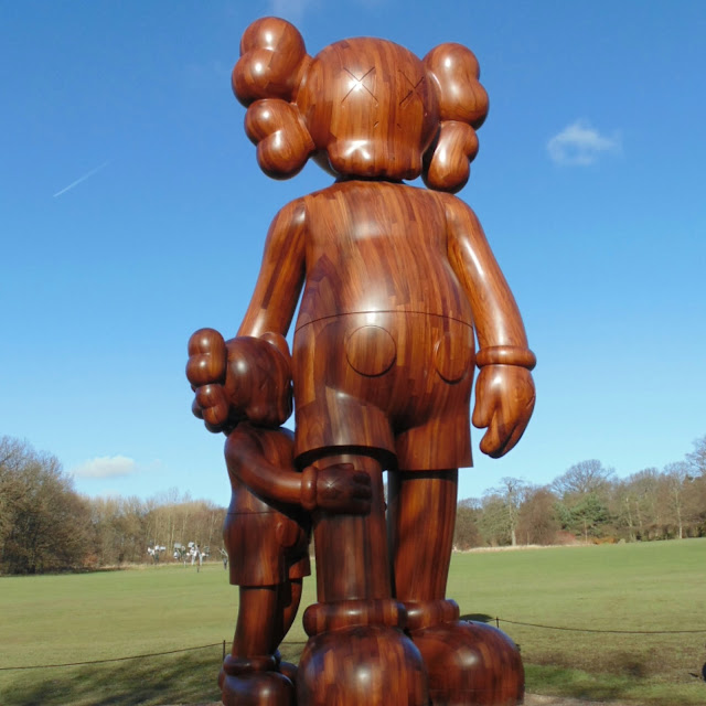 Kaws at the Yorkshire sculpture park