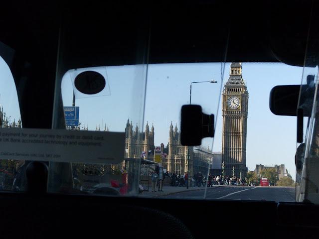 Londres transporte hospedagem