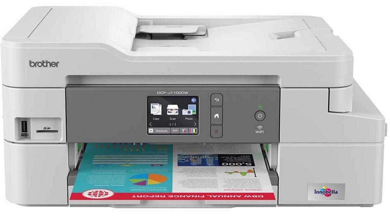Brother printer is offline: how to get it back online? Laser tek.