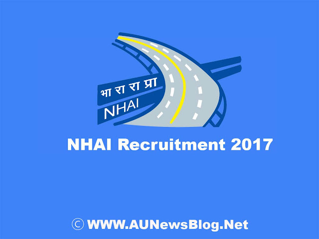 General Manager Jobs -  NHAI Recruitment 2017