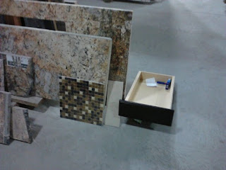 Picking out the Counter Top and Back Splash