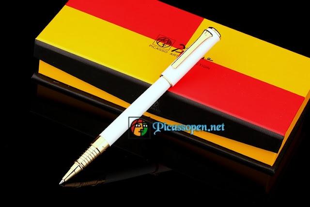 Bút ký cao cấp Picasso 988 màu trắng