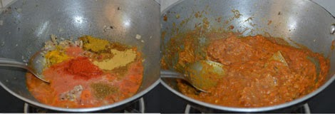 preparing dum aloo