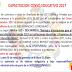 COMUNICADO CAPACITACIÓN CENSO EDUCATIVO 2017