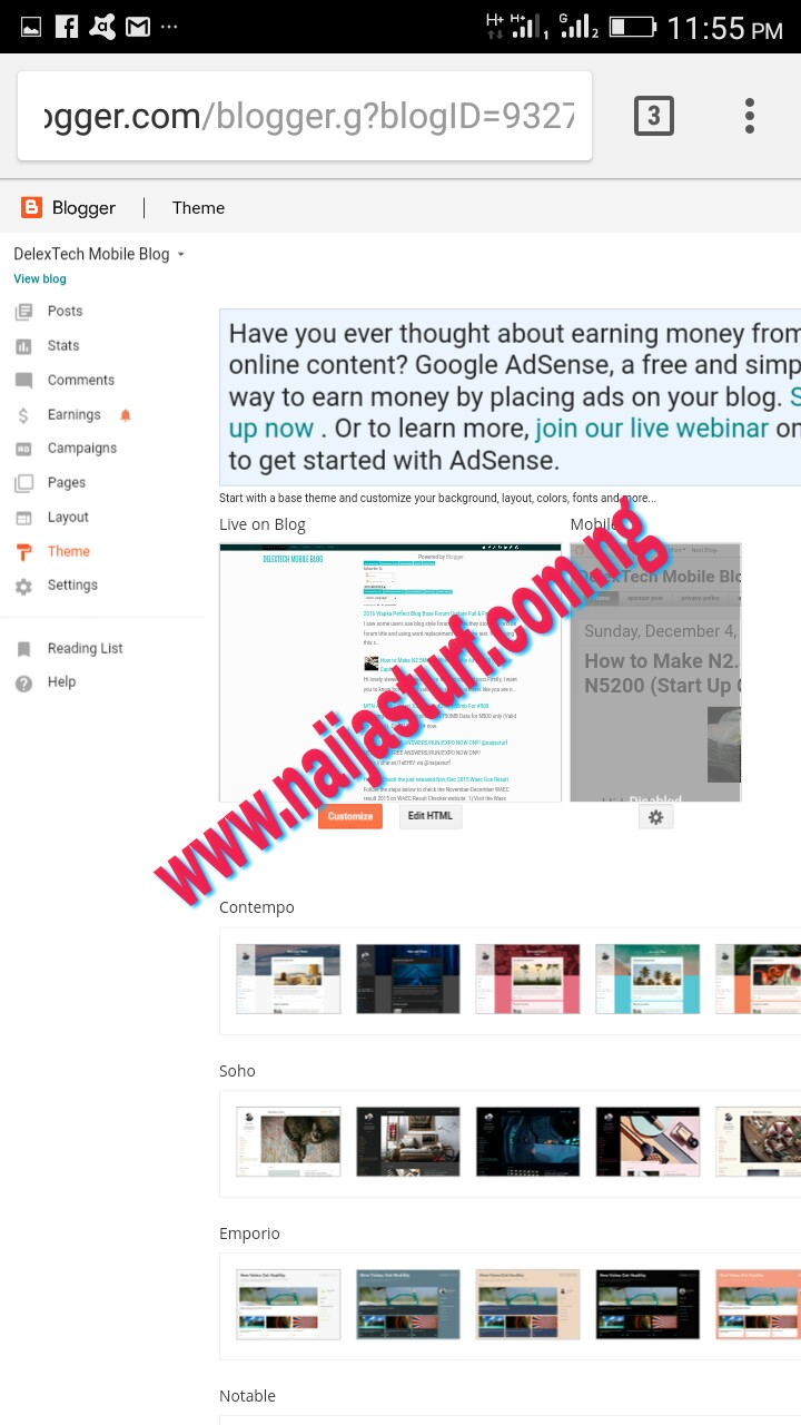 How to edit blogger templates using quickedit pro on android how to edit blogger template pronofoot35fo Images
