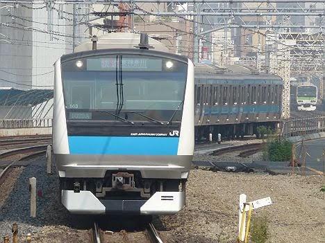 【ダイヤ改正で消滅!】京浜東北線 快速 東神奈川行き E233系
