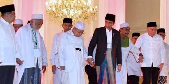 Ijtimak Ulama II, kubu Jokowi sebut Ma'ruf pemersatu nasionalis dan agamais
