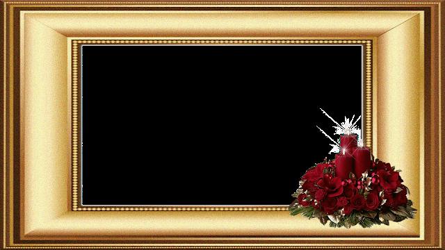 Natal - Moldura dourada 2 FHD