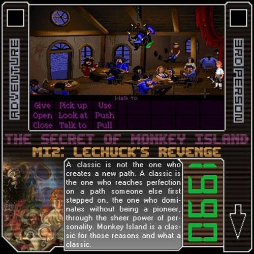 1990 - The Secret Of Monkey Island: Lechuck's Revenge