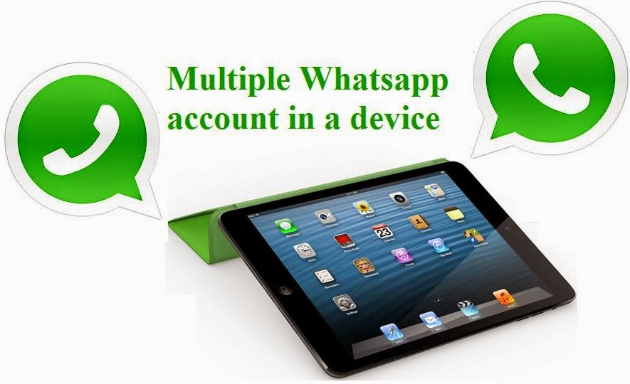 Run Multiple whatsapp account in single phone