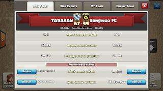 Clan TARAKAN vs Sangwoo FC, TARAKAN Victory