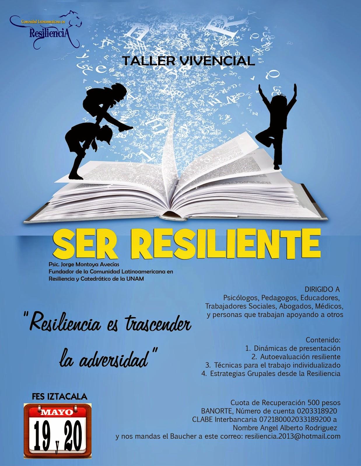 Comunidad Latinoamericana en Resiliencia: TALLER VIVENCIAL ...